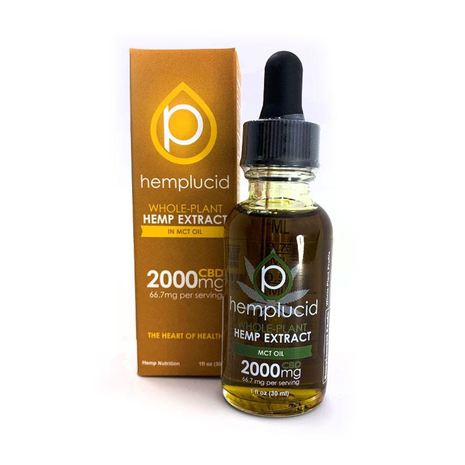 MCT Oil by Hemplucid