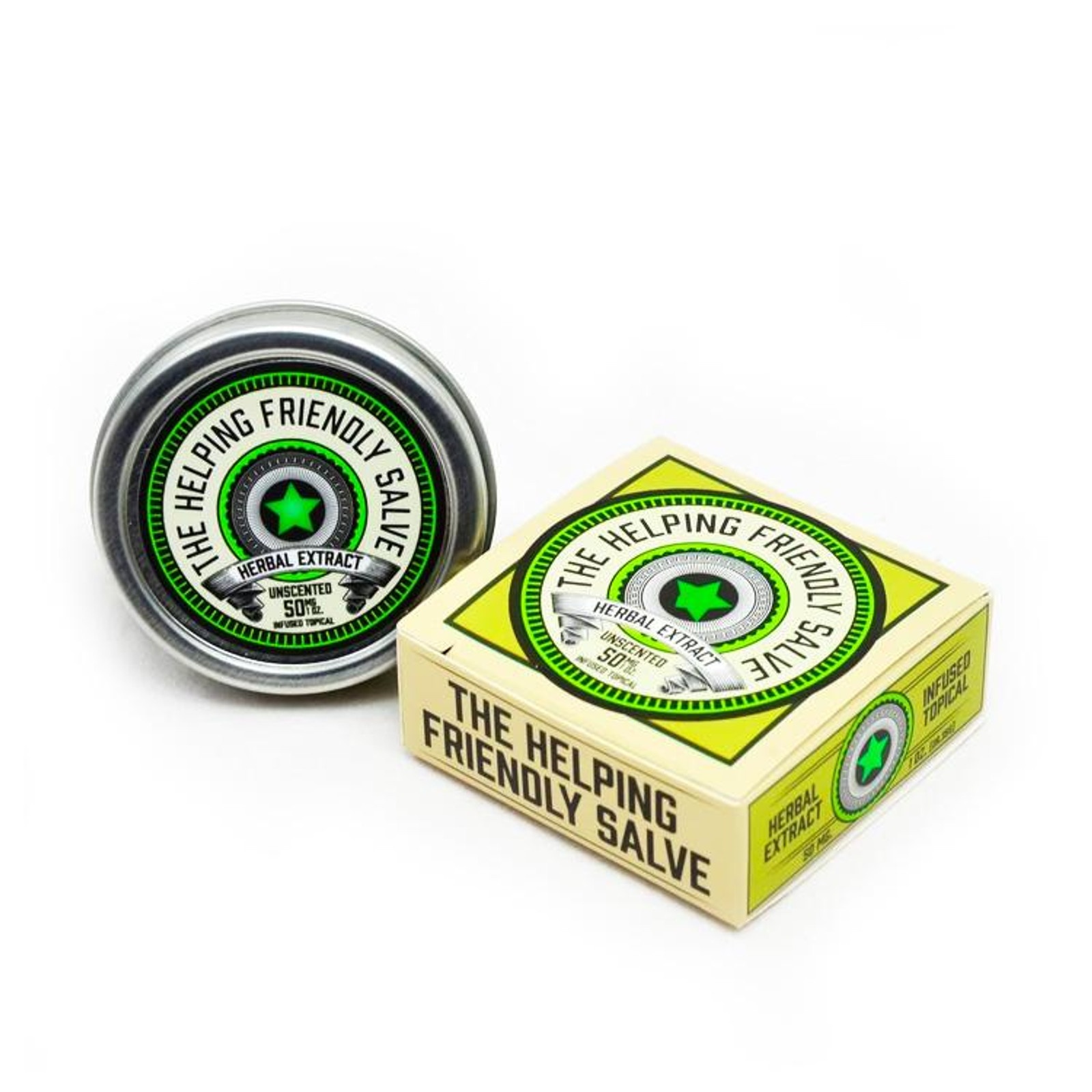 Unscented Salve by The Helping Friendly Salve