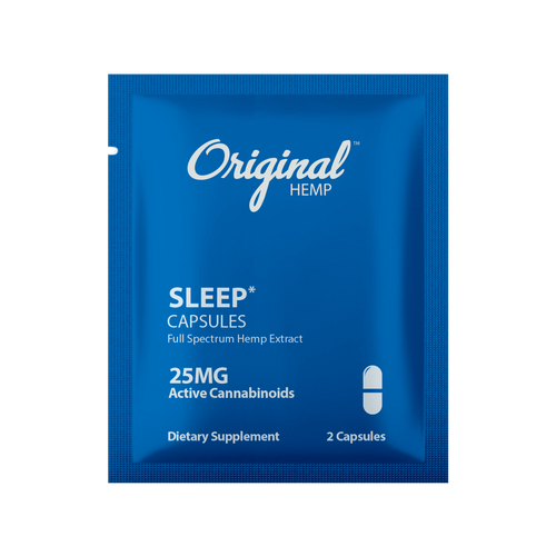 Original Hemp Sleep Daily Dose Capsules - 25 mg
