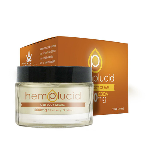 Hemplucid CBDA Body Cream