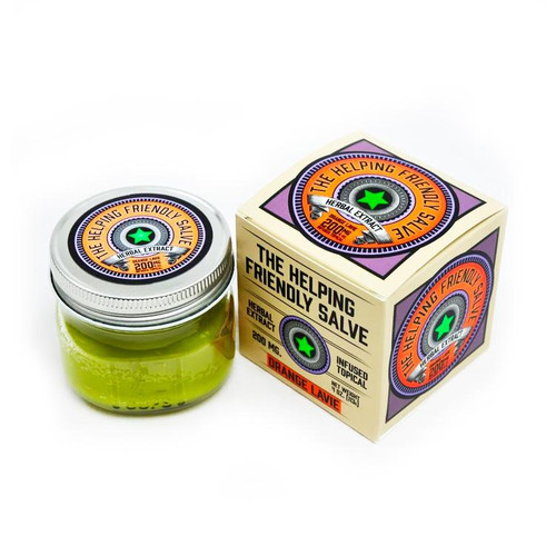 Orange Lavie Salve by The Helping Friendly Salve