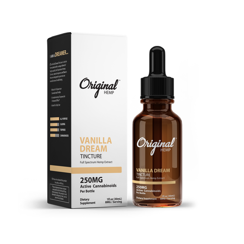 Vanilla Dream MCT Oil by Original Hemp