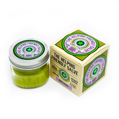 Original Salve by The Helping Friendly Salve