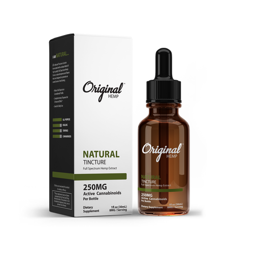 Natural MCT Oil by Original Hemp