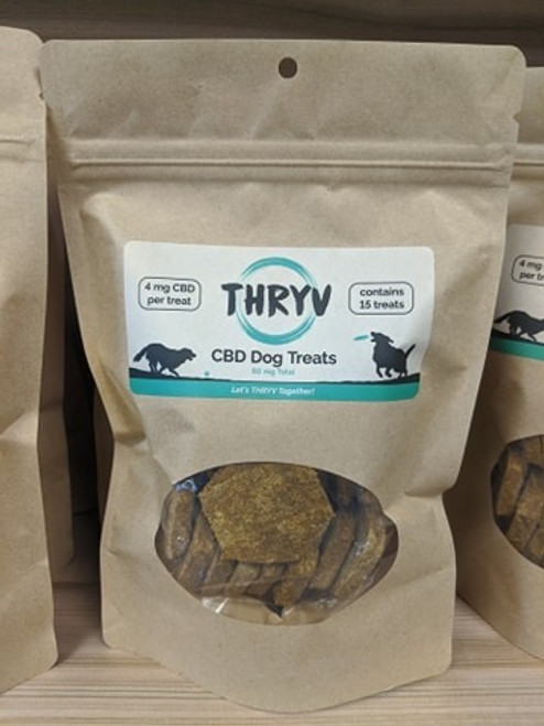 THRYV CBD Dog Treats 60mg