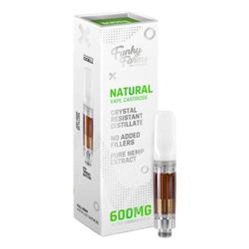 Natural CRD Cartridge (600mg)