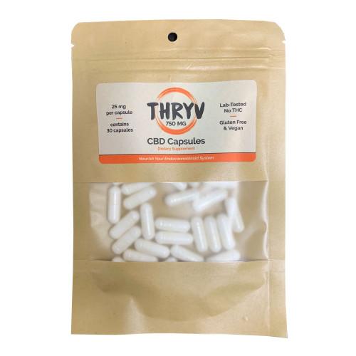Thryv 750 mg CBD Capsules