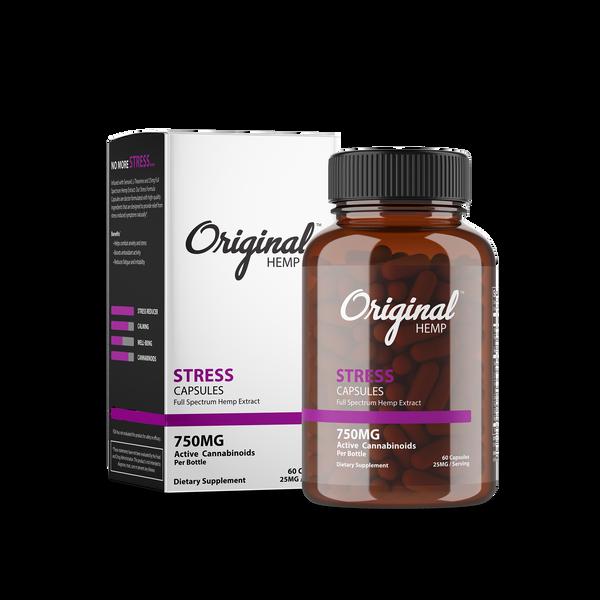 Original Hemp Stress Capsules - 750 mg