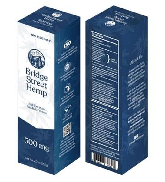 Full Spectrum Homeopathic Pain Relief Cream