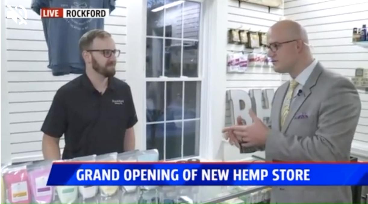 Rockford CBD Store Featured on Fox 17