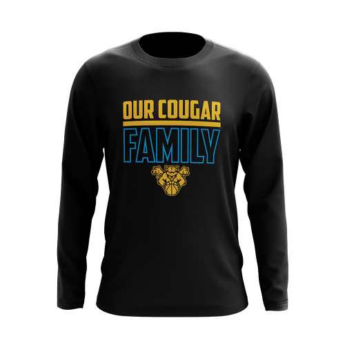 Long Sleeve Cougar Family Shirt