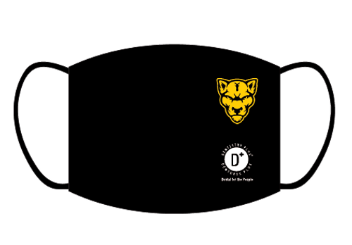 Cougar Face Mask - PLAIN