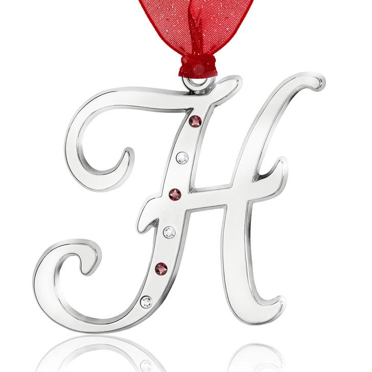 Initial Ornament - H