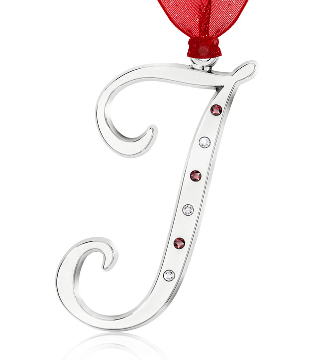 Initial Ornament - J