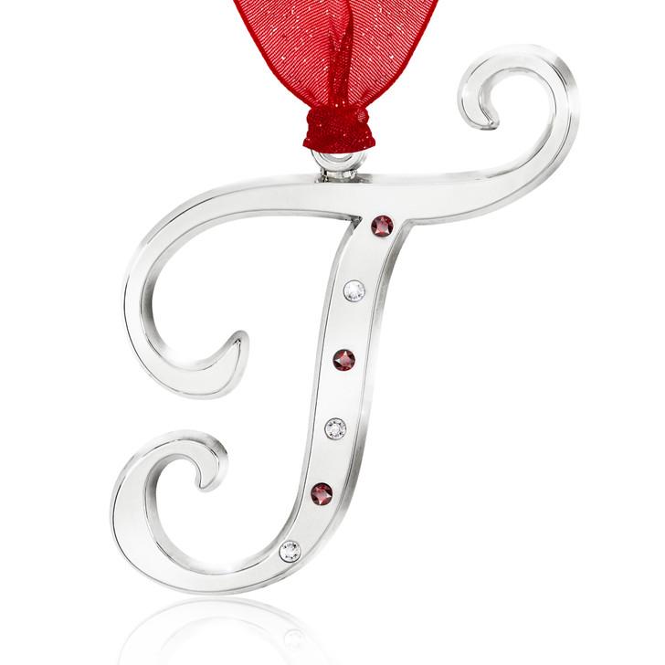 Initial Ornament - T