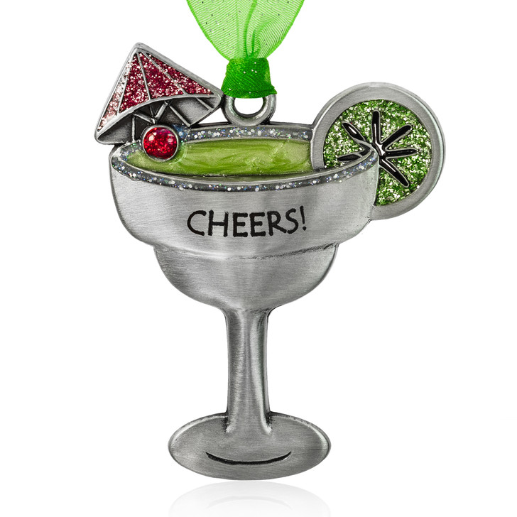 Cheers Margarita Cocktail Ornament