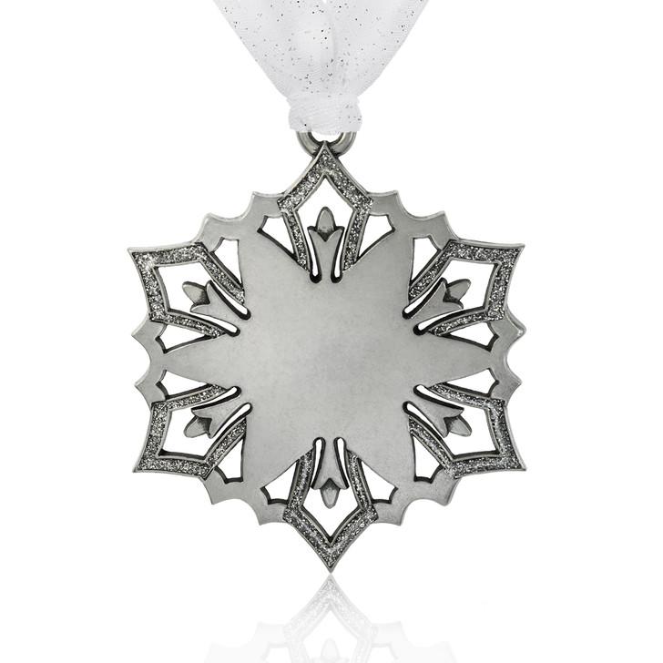 Engravable Snowflake Star