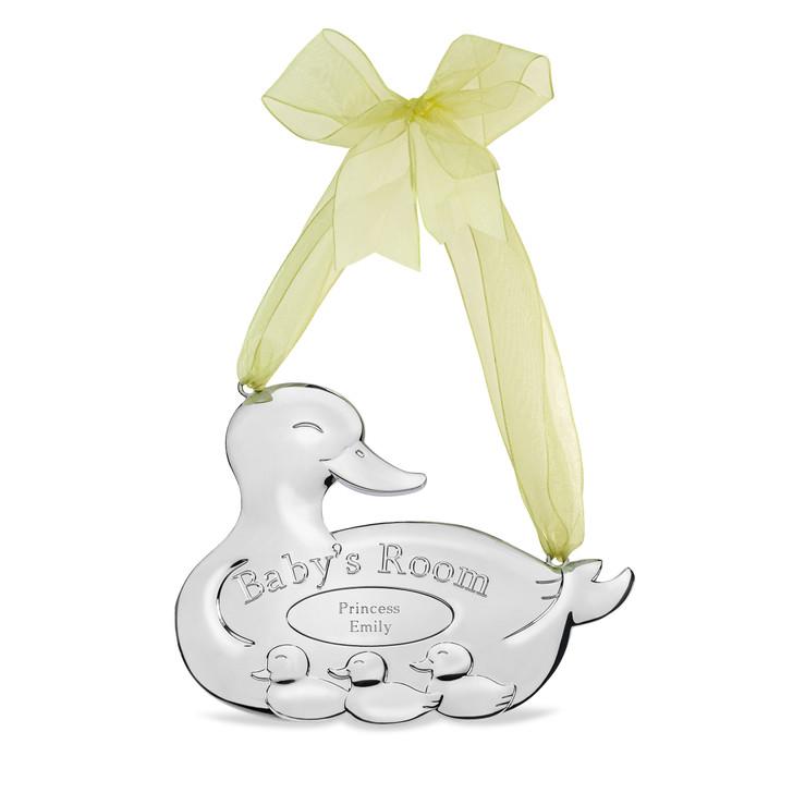 Ducky Baby Door Sign Giftware