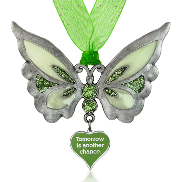 Tomorrow is Another Chance Glow in the Dark Butterfly