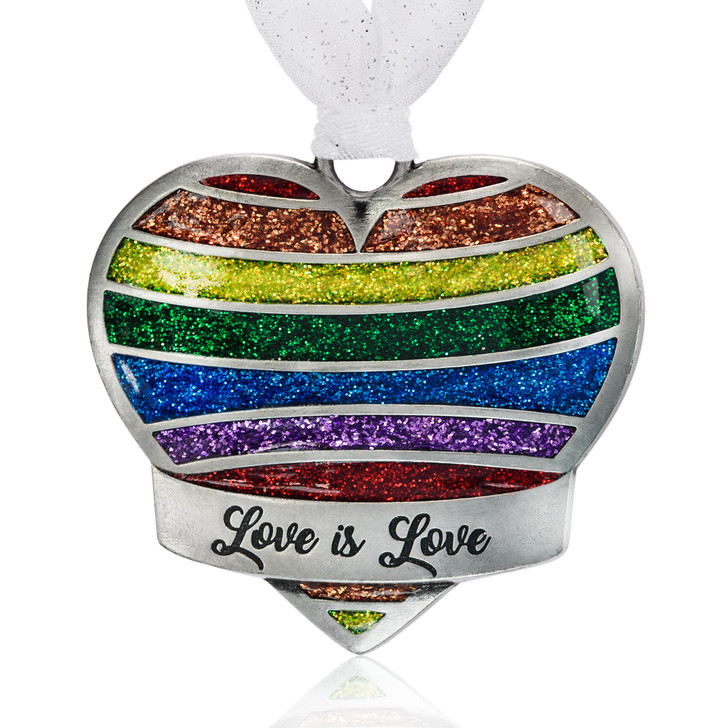 Love is Love Rainbow Heart