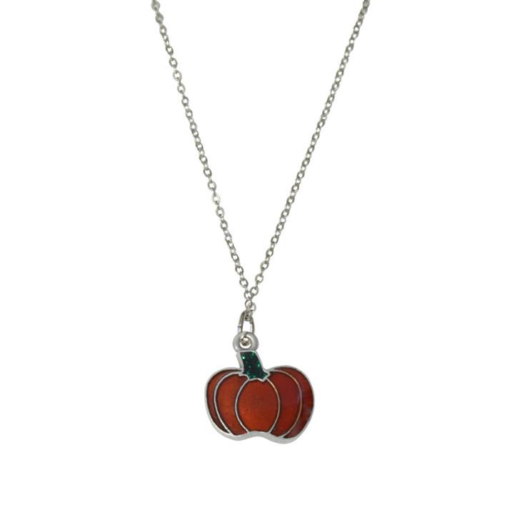 pumpkin pendant-halloween jewelry