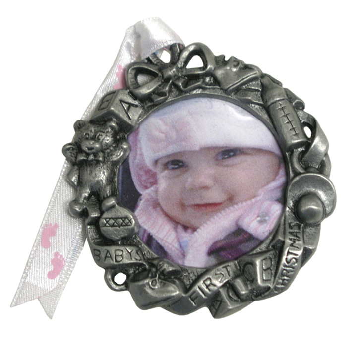 Pewter Baby Wreath