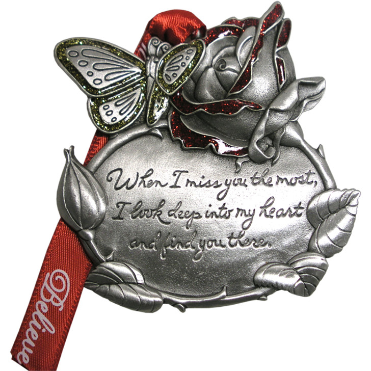 Remembrance Rose and Butterfly