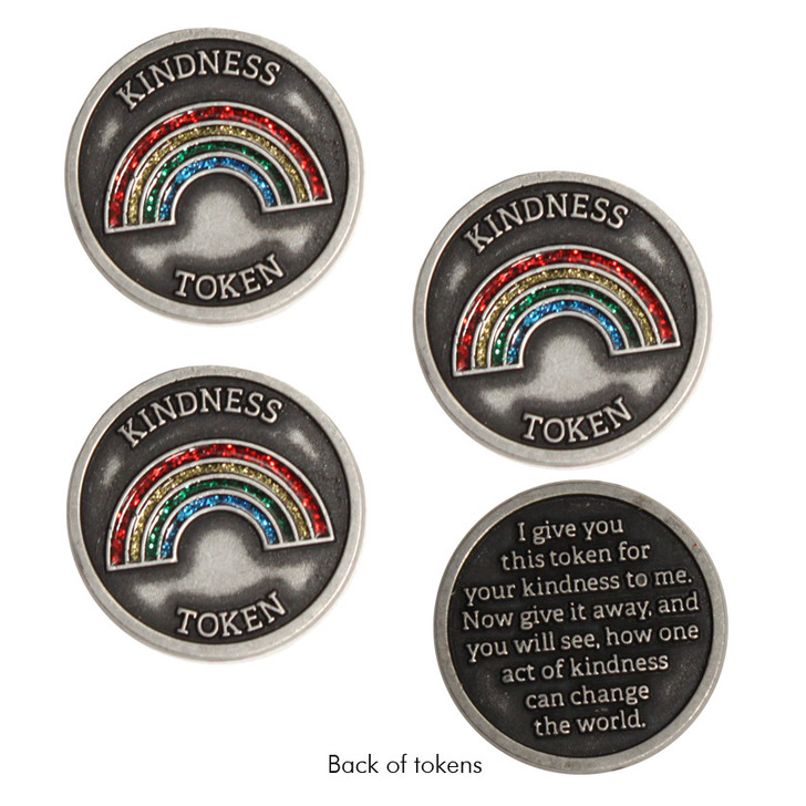 Rainbow Kindness Tokens, Set of 3