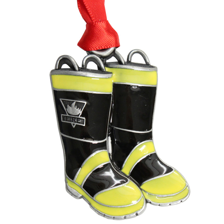 Fire Boots Christmas ornament