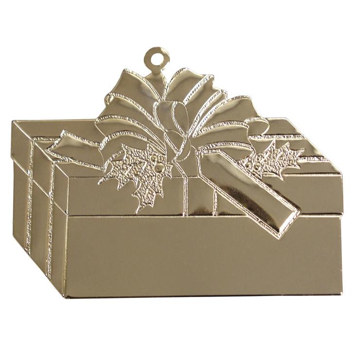Goldtone Giftbox with imprint