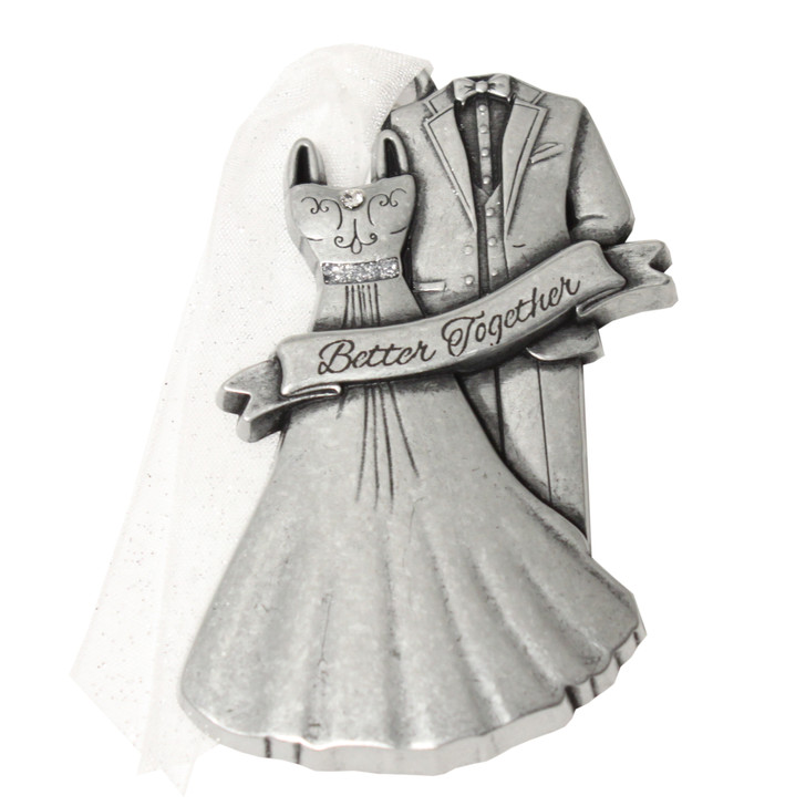 Wedding Dress & Tuxedo Ornament