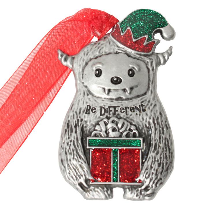 Yeti Christmas Ornament