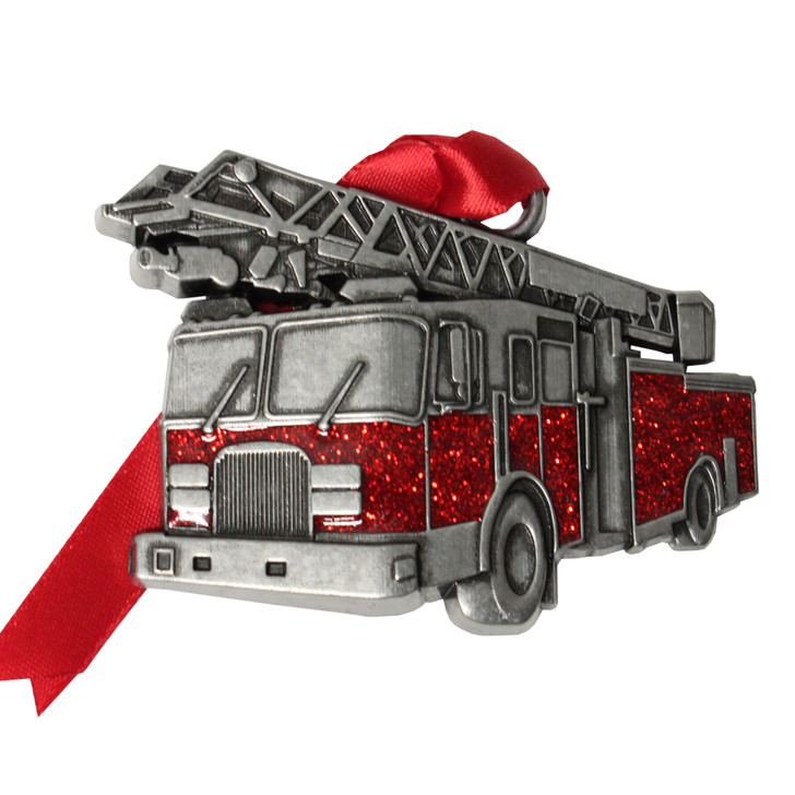 Fire Truck Ornament
