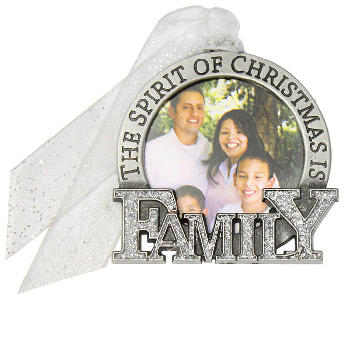 Family Christmas Picture Frame