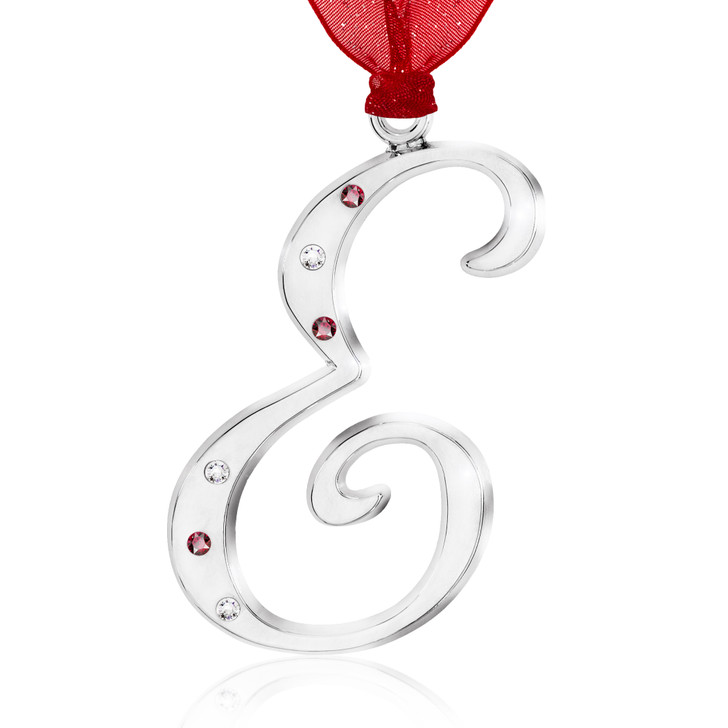 Initial Ornament - E