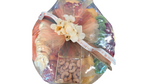 Gold Apple Charger With Nuts And Dried Fruit
