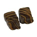 Caramel Fudge-Stringed Truffle