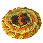 Super Deluxe Dried Fruit Round Wicker Tray