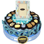 Two Tier Round Centerpiece-Boy