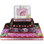 Large Rectangle Four Tier Centerpiece- Girl