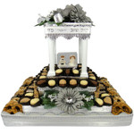 Large Square Chuppah Centerpiece