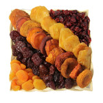 Passover Square Wicker with Dried Fruit
