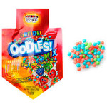 tiny tangy fruity chews. comes with 24 bags in each box