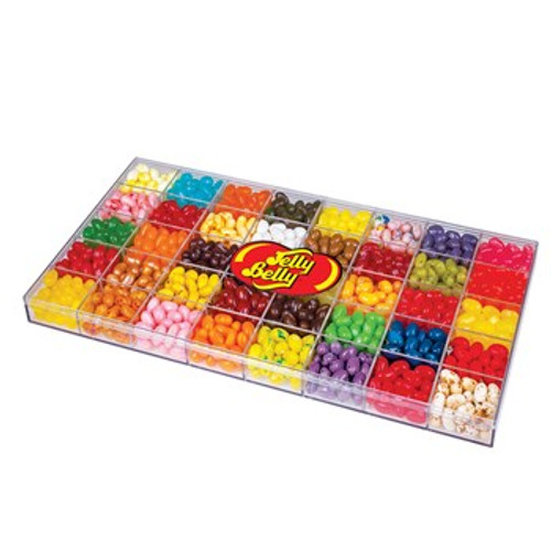 Jelly Belly 40 flavor clear gift box