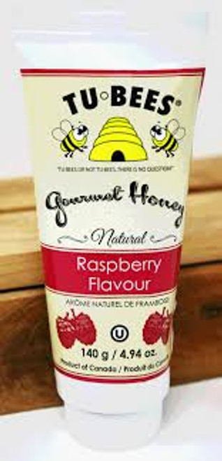 Tu Bees Raspberry Honey Tube