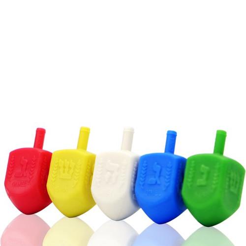 Medium Plastic Colorful Dreidel