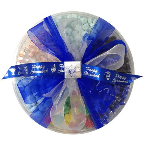 Chanukah Six Sectional Candy Platter