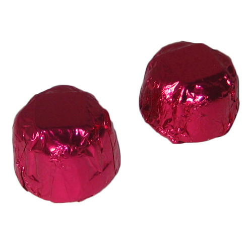 Foiled Raspberry Truffle