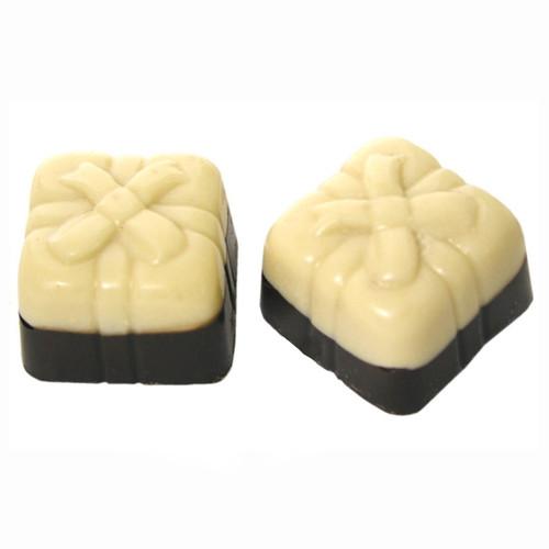 White Two Tone Gift Box Truffle