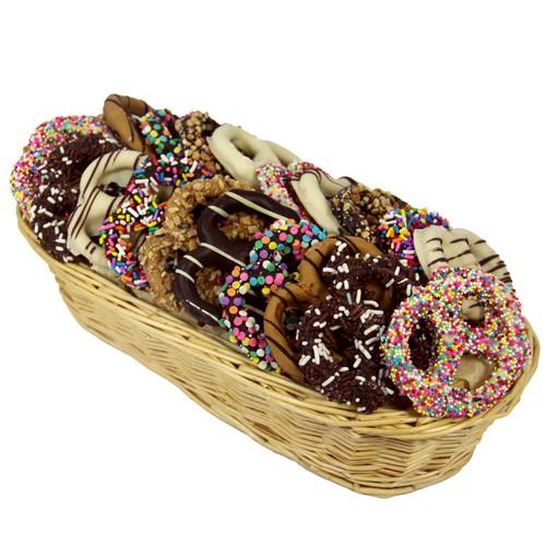 Colorful Pretzel Basket
